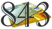 Credit card with 843 Credit Score