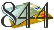 Credit card with 844 Credit Score